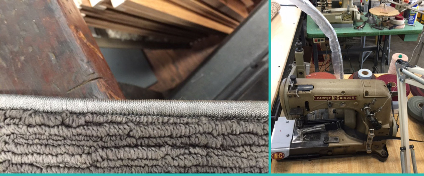 We Do Binding and Serging In House